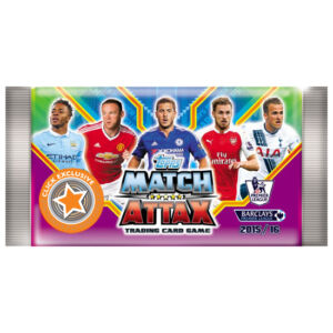2015-16 Topps Match Attax Premier League Booster csomag (10 kártya/csomag)