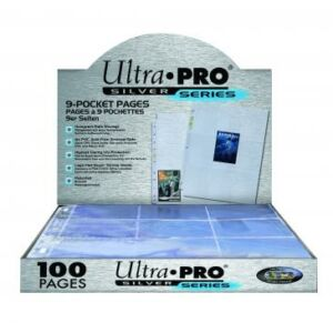 Ultra Pro Silver Series 9 zsebes, 11 lyukas (100 lap)
