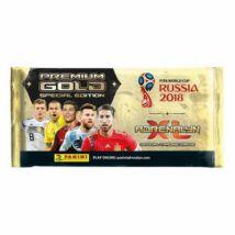 2018 Panini FIFA World Cup Russia Adrenalyn XL Premium Gold csomag - Angol kiadás