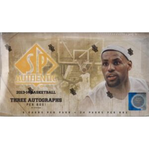 2013-14 Upper Deck SP Authentic Basketball Hobby doboz
