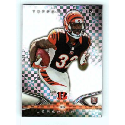 2014-15 Topps Platinum Base X-Fractor #101 Jeremy Hill RC