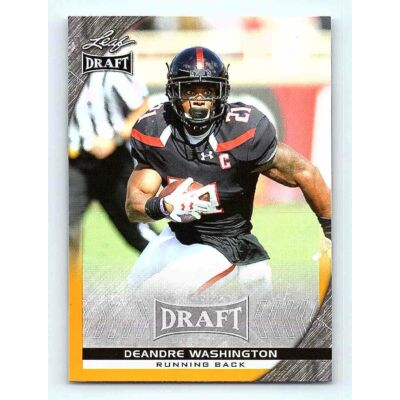 2016-17 Leaf Draft Base Gold #24 DeAndre Washington RC