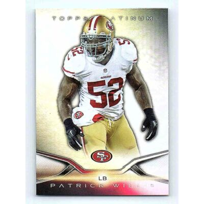 2014-15 Topps Platinum Base #27 Patrick Willis
