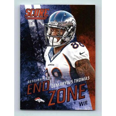 2014-15 Score Destination End Zone #DE8 Demaryius Thomas