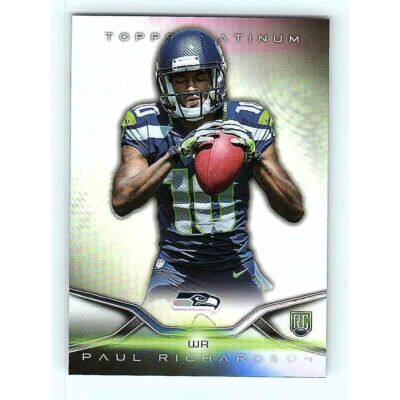 2014-15 Topps Platinum Base #141 Paul Richardson RC