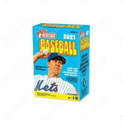 2021 Topps Heritage Baseball Blaster doboz