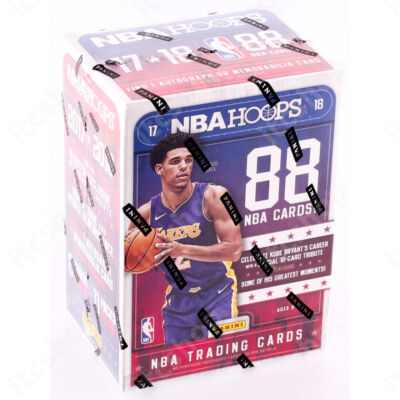 2017-18 NBA Hoops blaster doboz