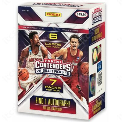2018-19 Contenders Draft Picks Basketball Blaster doboz