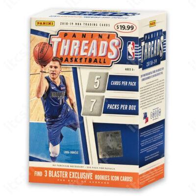 2018-19 Threads Basketball Blaster doboz