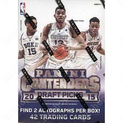 2015-16 Contenders Draft Picks Basketball Blaster doboz