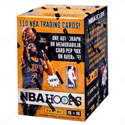 2015-16 NBA Hoops Basketball Blaster doboz