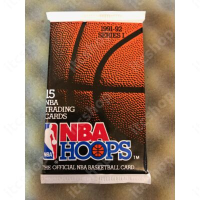 1991-92 NBA Hoops Series 1 Basketball csomag