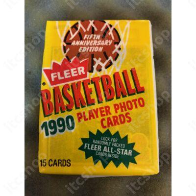 1990 Fleer Basketball csomag