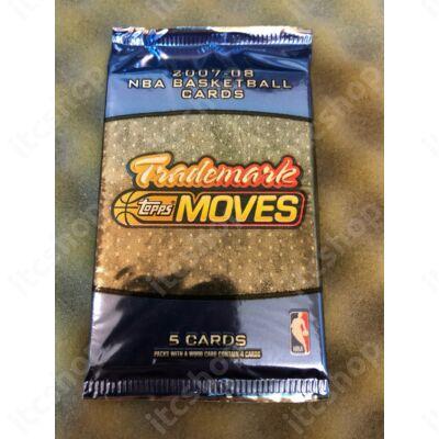 2007-08 Topps Trademark Moves Basketball retail csomag