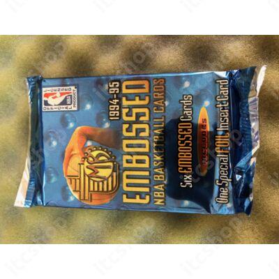 1994-95 Topps Embossed Basketball hobby csomag