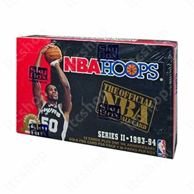 1993-94 Skybox NBA Hoops Series 2 Basketball hobby csomag