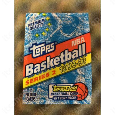 1992-93 Topps Series 2 Hobby csomag