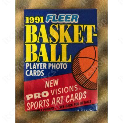 1991-92 Fleer Series 1 csomag