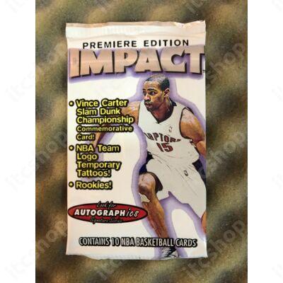 1999-00 Fleer Skybox Impact hobby csomag