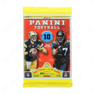 2017 Panini Football retail csomag