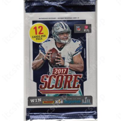 2017 Score Football Retail csomag