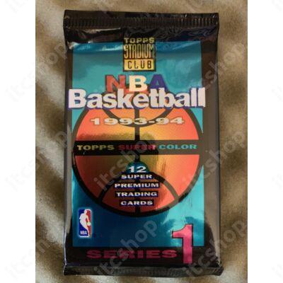 1993-94 Topps Stadium Club Series 1 Basketball Hobby pack