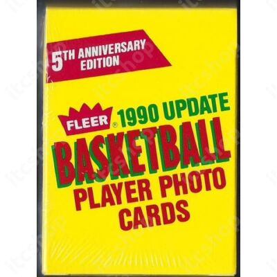 1990 Fleer Update Basketball Szett mini doboz