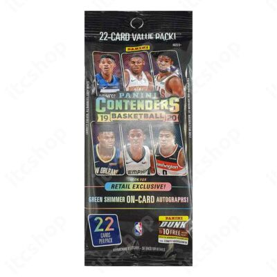 2019-20 Contenders Basketball Jumbo csomag