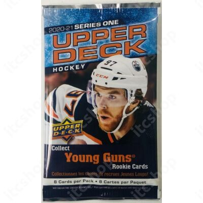 2020-21 Upper Deck Series 1 Hockey Gravity Feed csomag