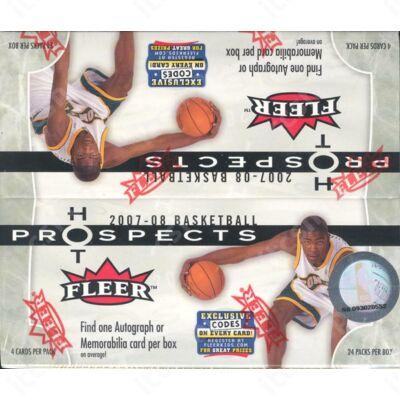 2007-08 Fleer Hot Prospects Retail doboz