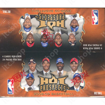 2008-09 Fleer Hot Prospects Retail doboz