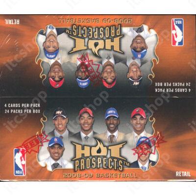 2008-09 Fleer Hot Prospects Retail doboz