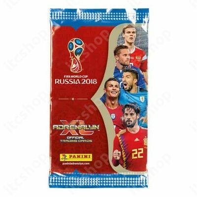 2018 Panini FIFA World Cup Russia Adrenalyn XL csomag (9db kártya) - Angol kiadás