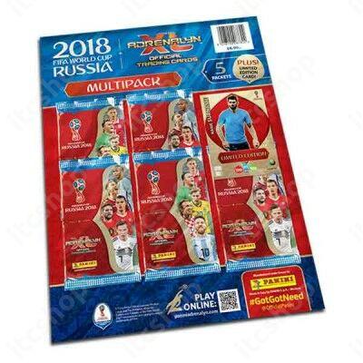 2018 Panini FIFA World Cup Russia Adrenalyn XL Multipack - Angol kiadás