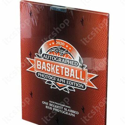 2020 Leaf Autographed Basketball Photograph Edition doboz