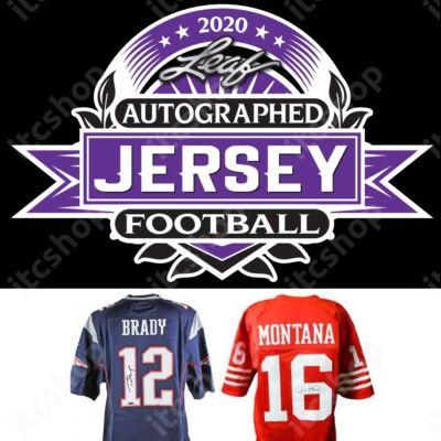 2020 Leaf Autographed Jersey Football doboz