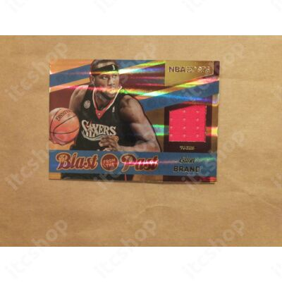 2014-15 Hoops Blast from the Past Memorabilia #5 Elton Brand