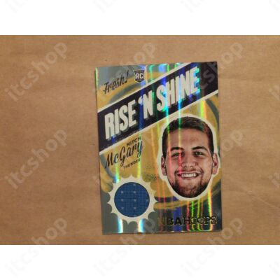 2014-15 Hoops Rise and Shine Memorabilia #18 Mitch McGary