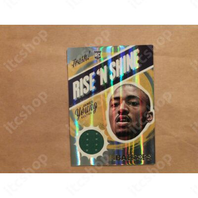 2014-15 Hoops Rise and Shine Memorabilia #15 James Young