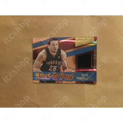 2014-15 Hoops Blast from the Past Memorabilia #35 Hedo Turkoglu