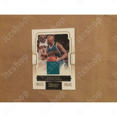 2009-10 Classics Timeless Threads #29 David West/199