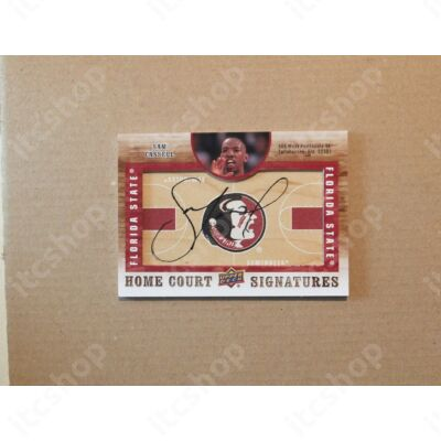 2011-12 SP Authentic Home Court Signatures #HCSC Sam Cassell