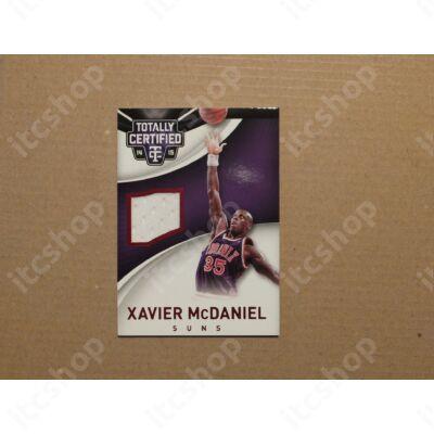 2014-15 Totally Certified Jerseys Red #73 Xavier McDaniel/149