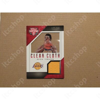 2014-15 Totally Certified Clear Cloth Jerseys Red #26 Nick Young/299