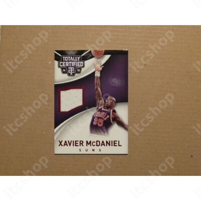 2014-15 Totally Certified Jerseys Red #73 Xavier McDaniel/149