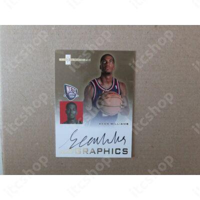 2007-08 Fleer Hot Prospects Autographics #SW Sean Williams