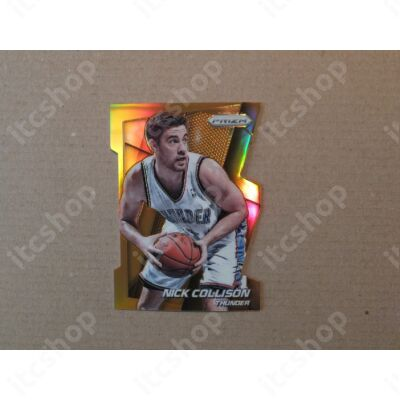 2014-15 Panini Prizm Prizms Orange Die Cut #30 Nick Collison