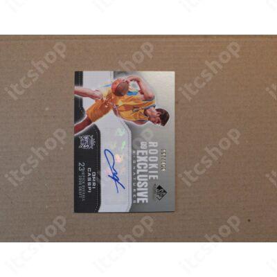 2009-10 SP Game Used Rookie Exclusive Signatures #REOC Omri Casspi