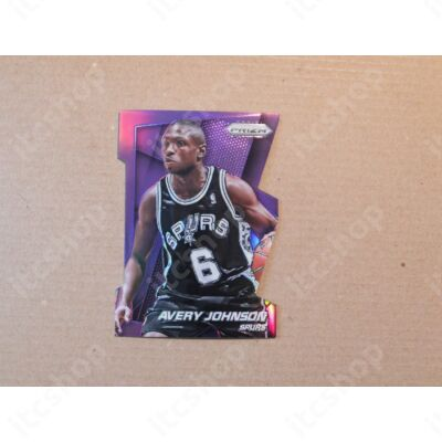 2014-15 Panini Prizm Prizms Purple Die Cut #156 Avery Johnson