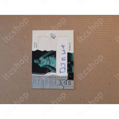 2003-04 SPx #165 David West JSY AU RC